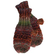 Ombre Knit Mittens, Set of 2 Mittens, One Size Fits Most, 100% Acrylic, Multiple Colors