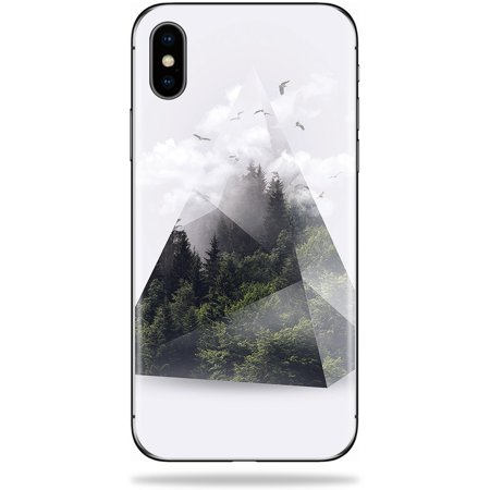 Skin For Apple iPhone XS Max - Forest Triangle | Protective, Durable, and Unique Vinyl Decal wrap cover | Easy To Apply, Remove, and Change - Max Triangle