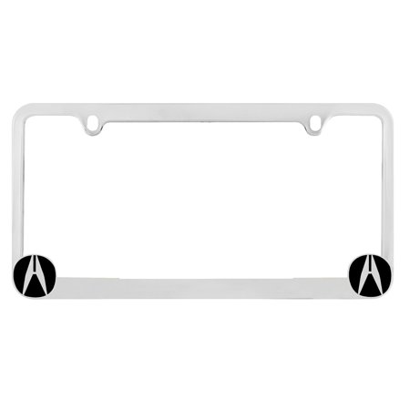 Acura Front License Plate Frame Personalized Custom Chrome License - Acura license plate