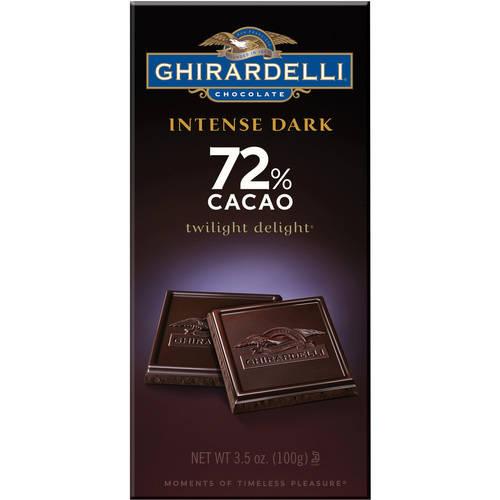 Ghirardelli Intense Dark Twilight Delight 72% Cacao Bar, 3.50 oz