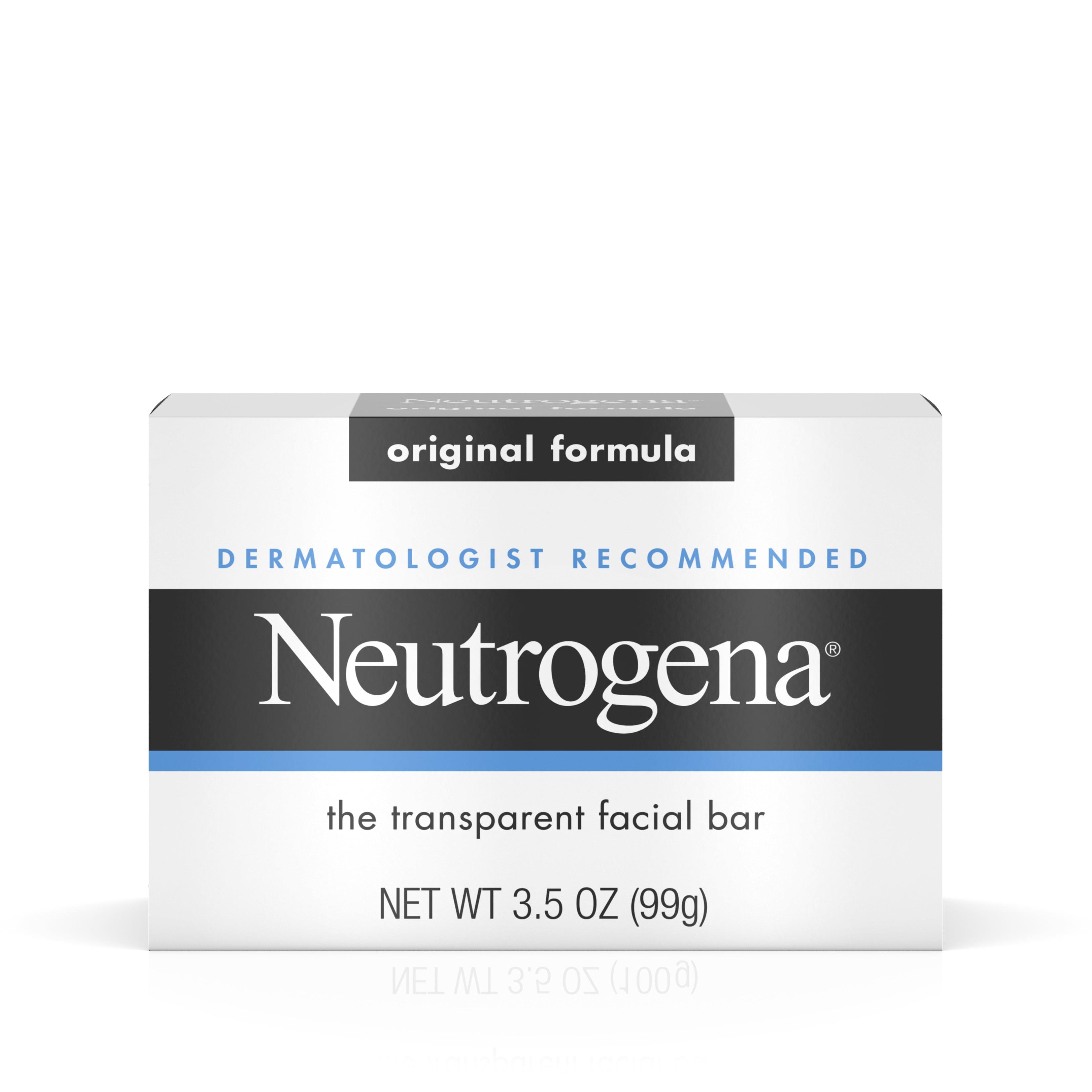 Neutrogena Facial Cleansing Bar, Original, 3.5 Oz
