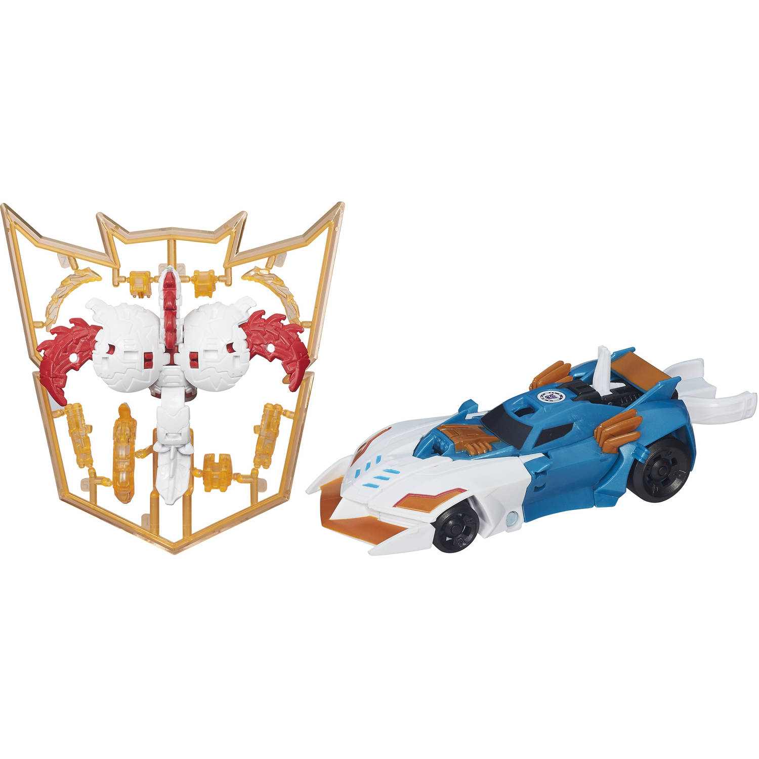 Transformers: Robots in Disguise Mini-Con Deployers Crazybolt and Decepticon Hammer by