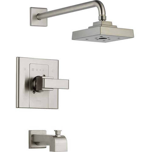 Delta Arzo Bath and Shower Trim with Monitor and Touch Cl...