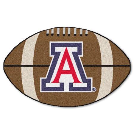 """Arizona Football Rug 20.5""""x32.5"""""""