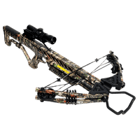 Barnett Wildgame XB380 380 FPS Compound Hunting Crossbow Package, Camouflage