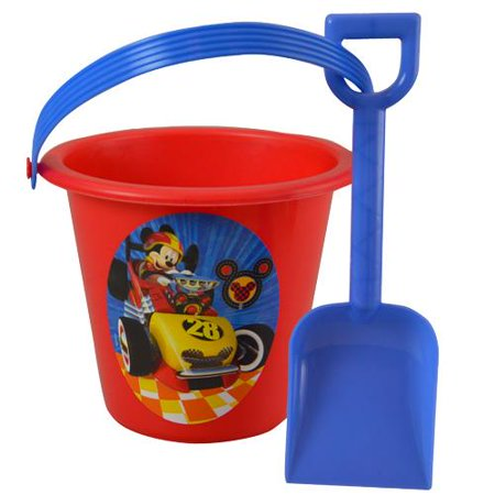 Mickey Roadster Sand Bucket and Shovel - Sand Buckets