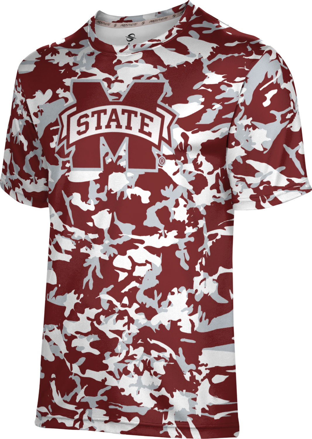 ProSphere Boys' Mississippi State University Camo Tech Tee
