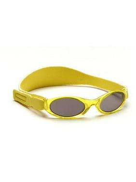 Kids Adventure Sunglasses, Yellow Solid