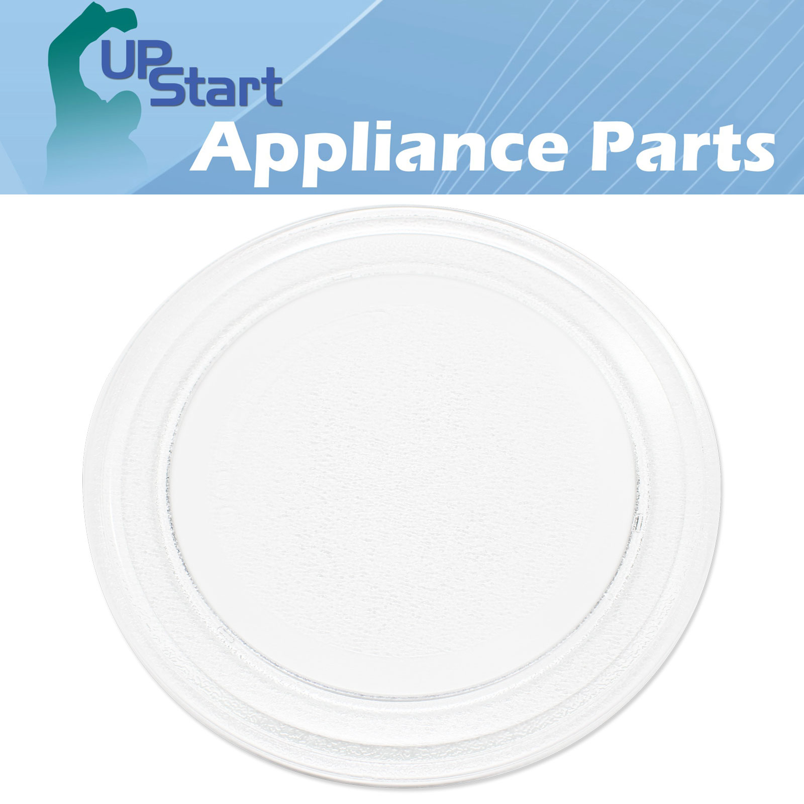 """Replacement Kenmore 72169072900 Microwave Glass Plate - Compatible Kenmore 3390W1A035D Microwave Glass Turntable Tray - 9 5/8"""" (245 mm) - image 2 de 4"""