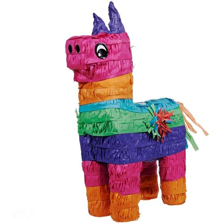Rainbow Donkey Pinata Party Accessories
