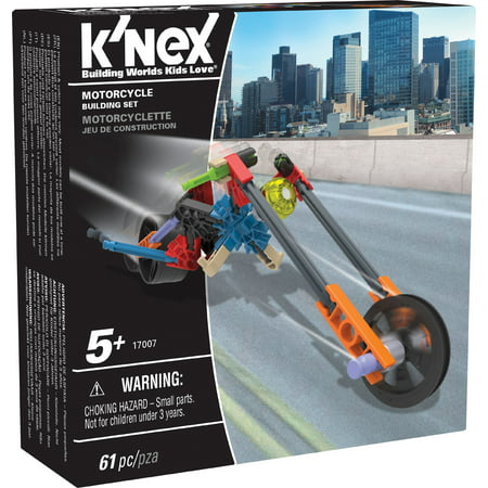 Knex Serpents - K'NEX Imagine - Motorcycle Building Set 61 Pieces For Ages 5+ Construction Education Toy