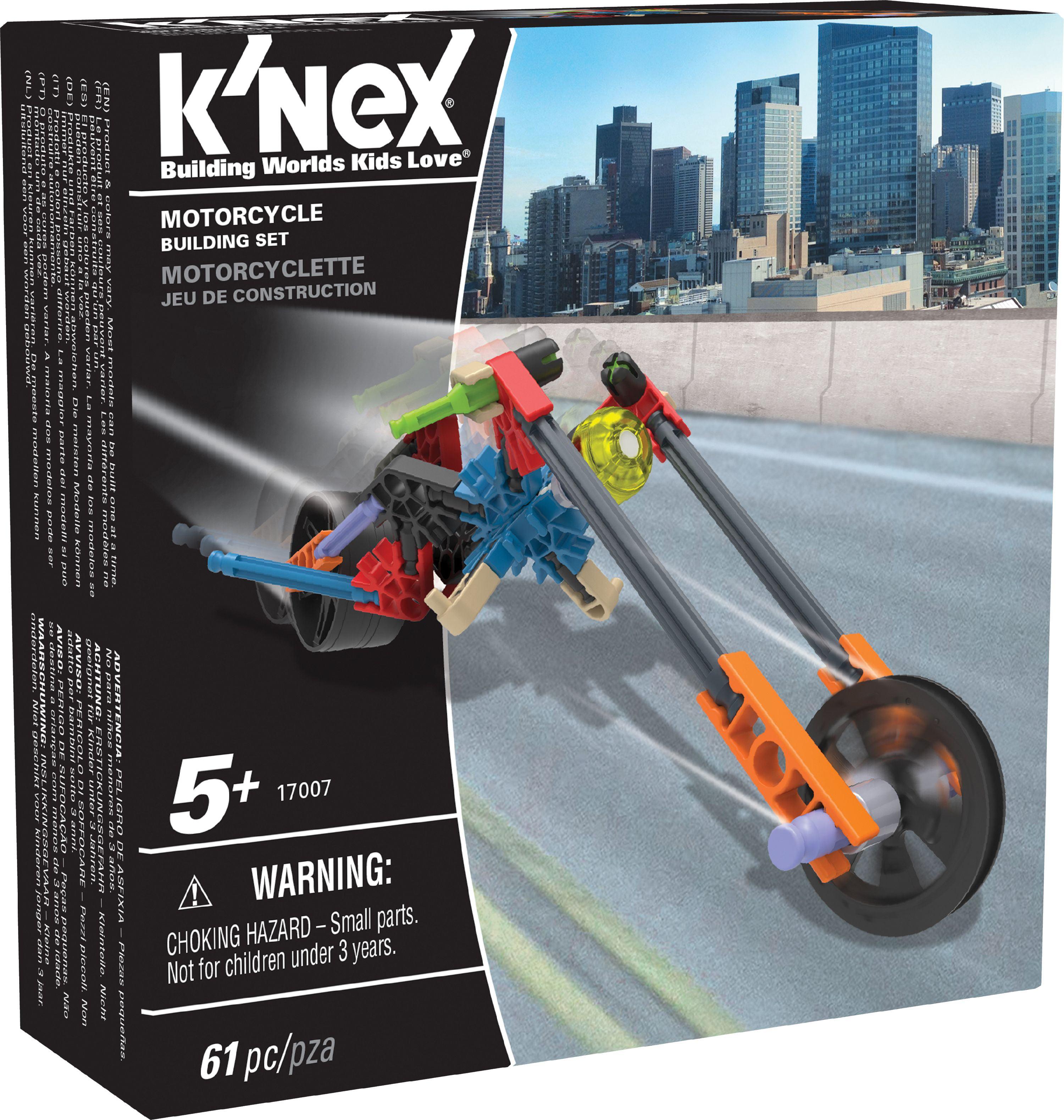 K'NEX Imagine - Motorcycle Building Set 61 Pieces For Ages 5+ Construction Education Toy