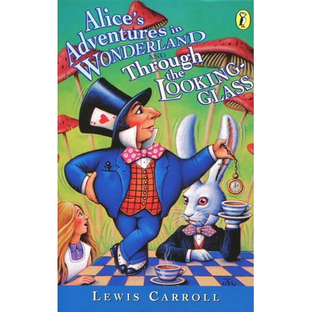 Wonderland Penguins - Alice's Adventures in Wonderland and Through the Looking-Glass