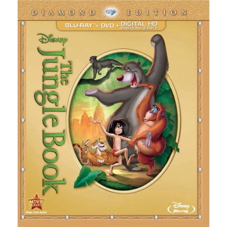 The Jungle Book (Diamond Edition) (Blu-ray + DVD)
