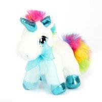 Way to Celebrate 6.5 Valentine Tealtrim Unicorn Plush Toy