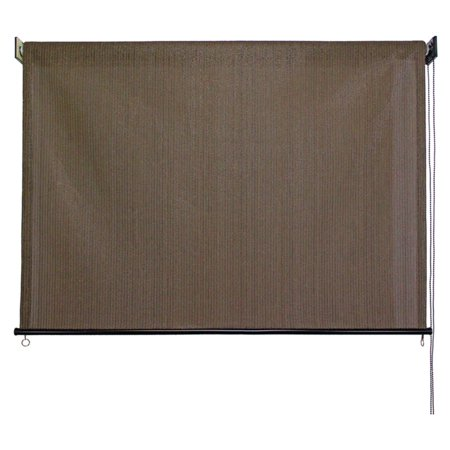 Coolaroo Outdoor Shade - Keystone Fabrics 6' x 6' Cord Operated Outdoor Sun Shade, Glenwood