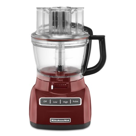 KitchenAid RKFP1333GC 13-Cup Food Processor with ExactSlice System - Gloss Cinnamon (CERTIFIED REFURBISHED)