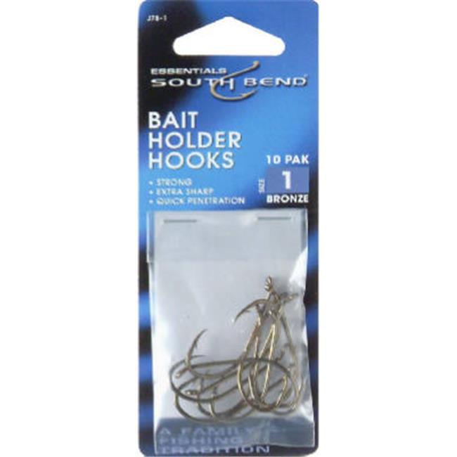 South Bend Baitholder Bronze Hooks - #1