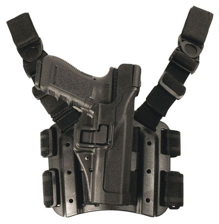 BLACKHAWK 430609BK-L Serpa Tactical Holster, LH, USP Compact