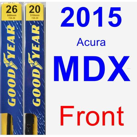 2015 Acura MDX Wiper Blade Set/Kit (Front) (2 Blades) - Premium