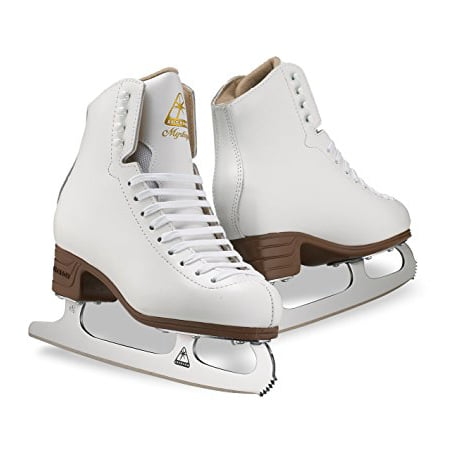 Jackson Leather Figure Skates (New Jackson Ultima Mystique JS1491 White Kids Size 11 C Ice Skates Figure )