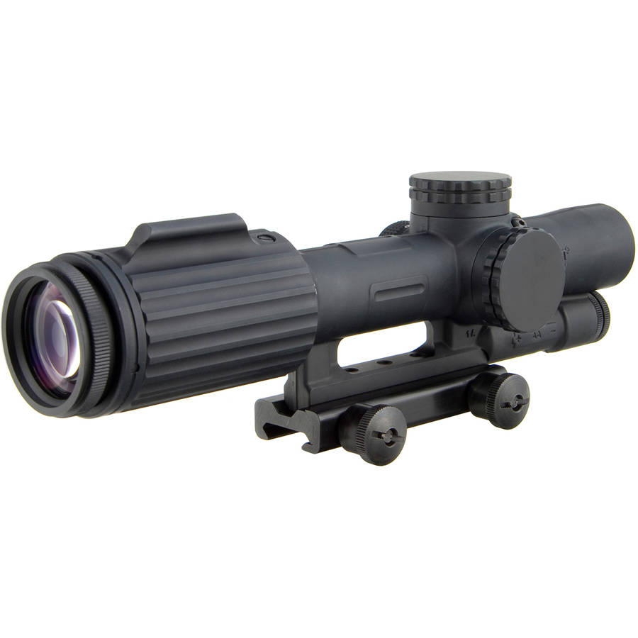 Trijicon VCOG Rifle Scope, 1-6X24, Red Horseshoe .308 Reticle, Matte, TA51 Mount by Trijicon