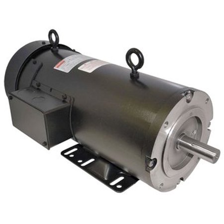 1/2 hp 1750 RPM 56C Frame 180V DC Dayton Electric Motor Model (180v Dc Dayton Electric Motor)