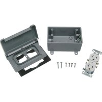 Thomas & Betts Grounded Outlet Kit WPKDTR-H-G