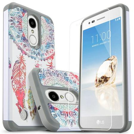 buy online faf4a 33ad5 LG K20 Plus Case, LG K20 Case, LG K20 V Phone Case, LG Harmony Case, W/[HD  Screen Protector], Heavy Duty Drop Protection Impact Advanced Rugged ...