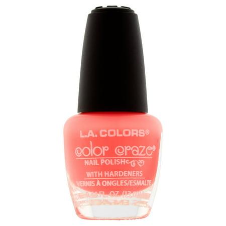 L.A. Colors Color Craze CNP537 Frill Nail Polish, 0.44 fl oz