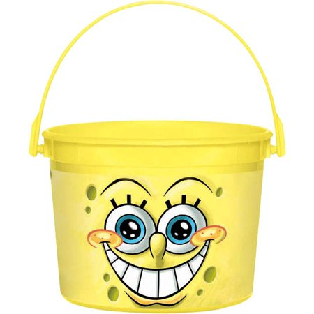 SpongeBob Favor Container (Each) - Party Supplies - Spongebob Buckets