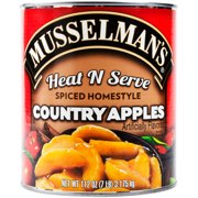 6 PACKS : Musselmans Heat N Serve Spiced Homestyle Country Apples, 112 Ounce -- 6 per case.