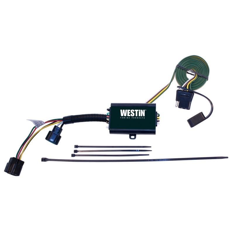 Westin 2007-2012 Hyundai Santa Fe T-Connector Harness - Black