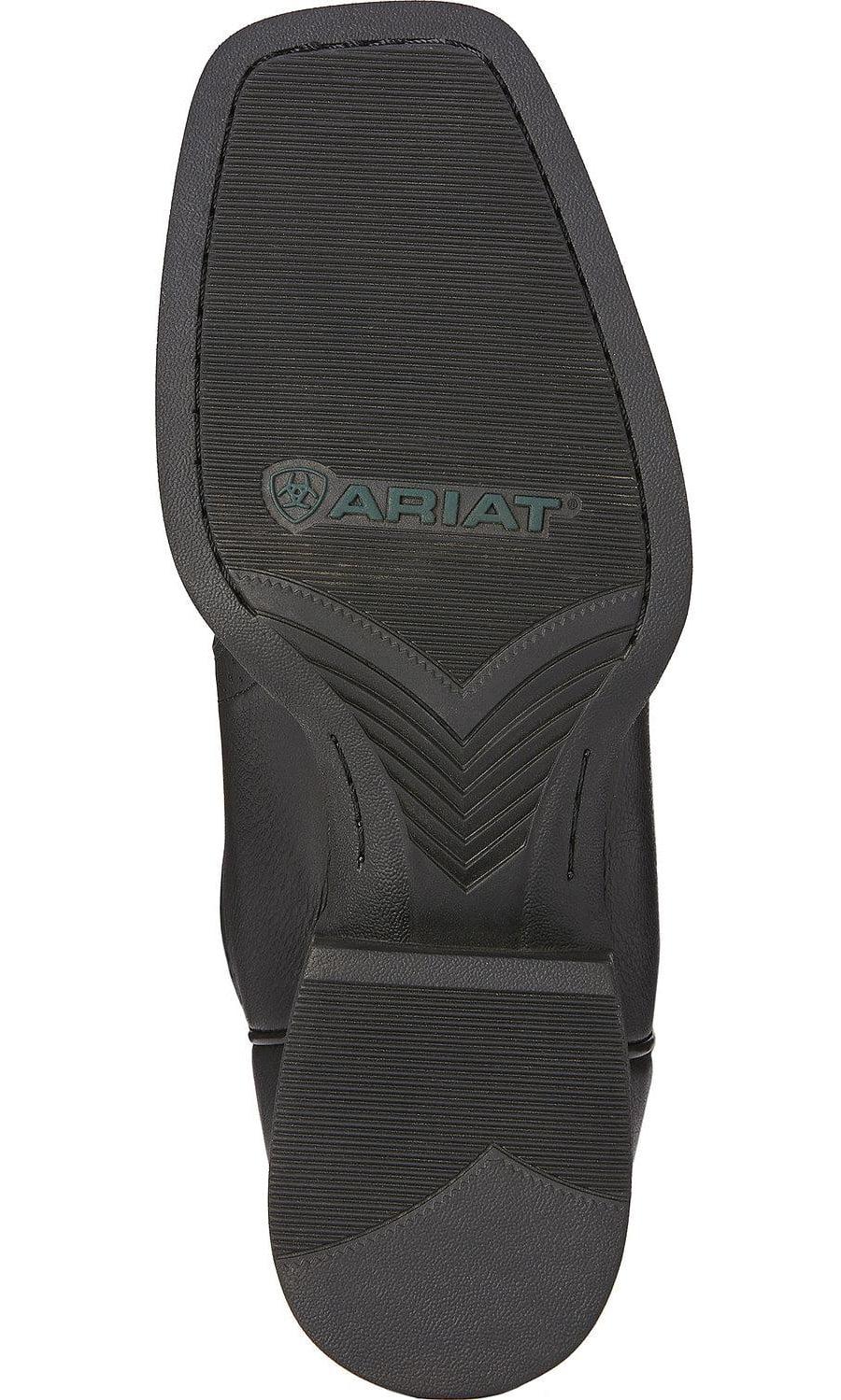 Ariat International Inc. Mens  Sport Western Black Deertan Cowboy Boots