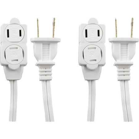 GE Extension Cord with Tamper Guard, 12;, 2 pack