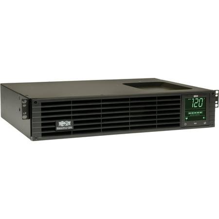 Tripp Lite Sm1000rm2utaa Smartpro 120V 1Kva 800W Line Interactive Sine Wave Ups 2U Rack Tower  Network Card Options  Lcd  Usb  6 Outlets