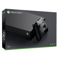 1TB Xbox One X Gaming Console, Microsoft CYV-00001, Refurbished, 886162362237