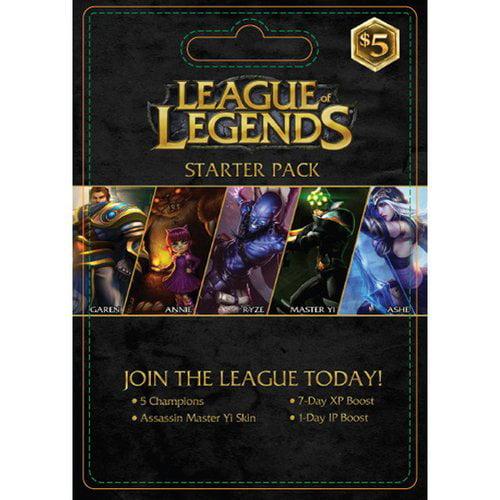 Interactive Commicat Riot League Of Legends Starter $5
