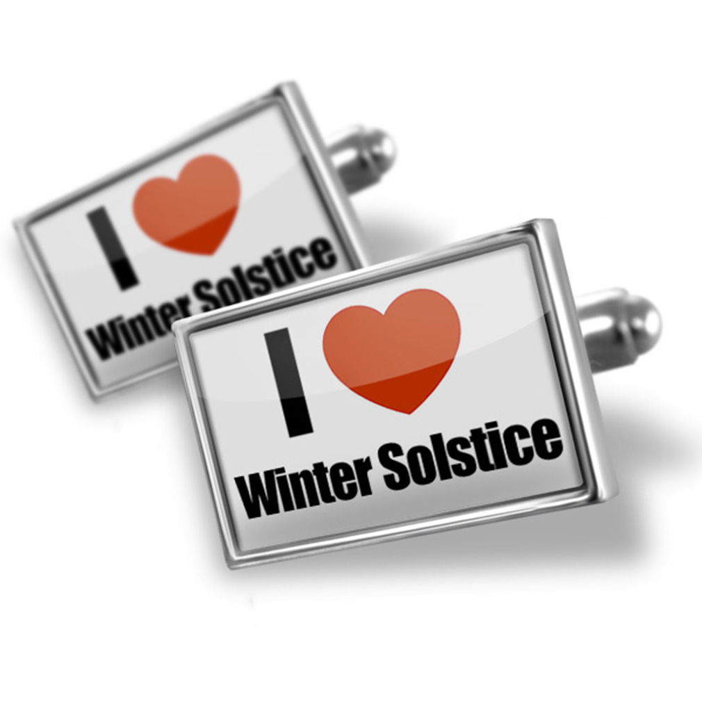 Cufflinks I Love Winter Solstice NEONBLOND by NEONBLOND