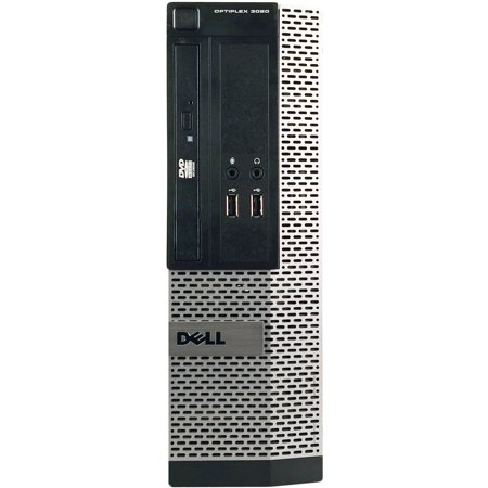 Refurbished Dell OptiPlex 3010 Small Form Factor Desktop PC with Intel Core i3-3220 Processor, 8GB Memory, 320GB Hard Drive and Windows 10 Pro (Monitor Not