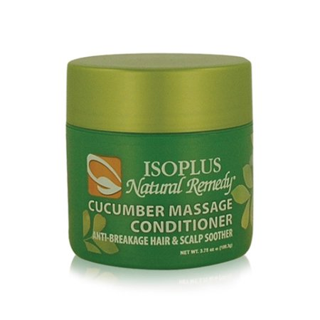 Isoplus Natural Remedy Cucumber Massage Conditioner Anti-Breakage Hair & Scalp Soother 3.75