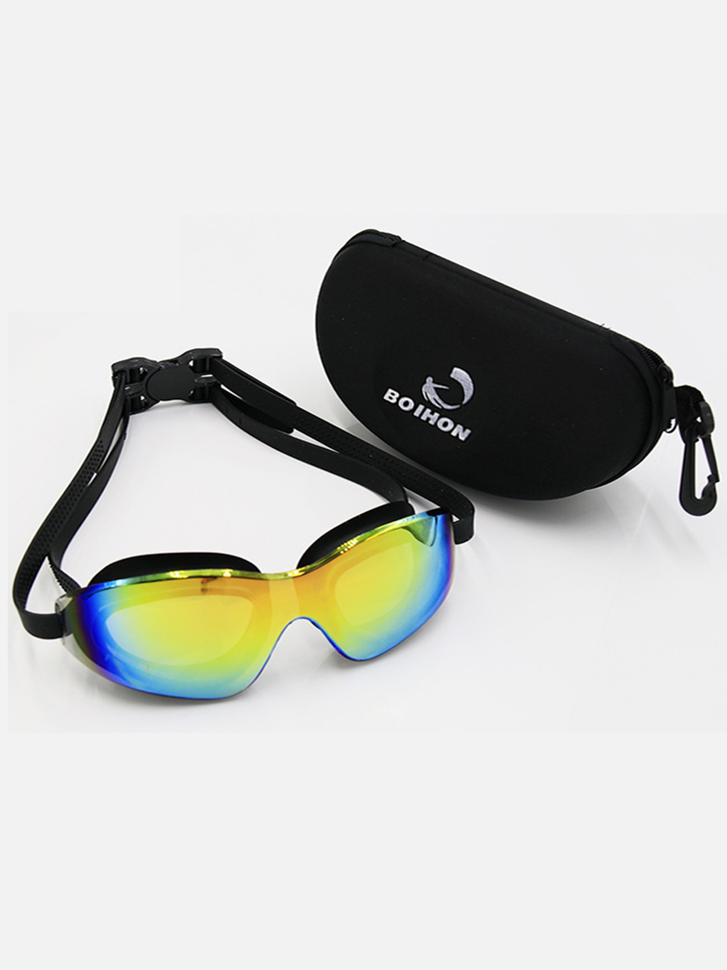Anyprize Swimming Goggles for Adults, PLo59BU02 No Leaking Anti-Fog UV Protection Swim Goggles for Adult Men Women Youth... by