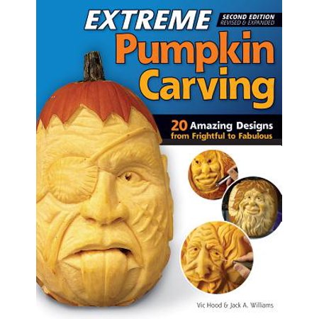 Extreme Pumpkin Carving, Second Edition Revised and Expanded : 20 Amazing Designs from Frightful to Fabulous - Captain America Pumpkin Carving