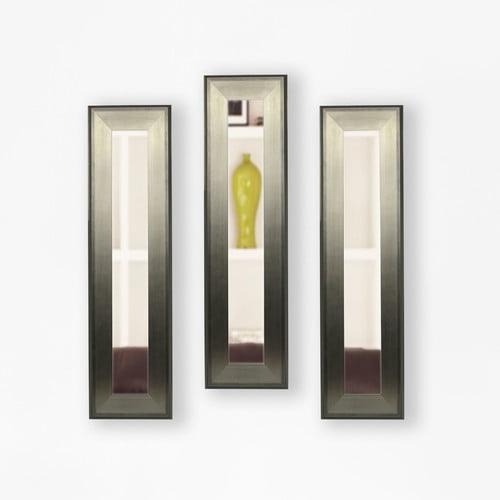 Wrought Studio 3 Piece Wanneroo Panels Mirror Set (Set of 3)