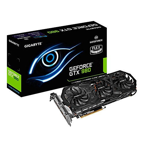Gigabyte GeForce GTX 980 4GB GDDR5 PCiE Graphics Cards GV-N980WF3-4GD by GIGABYTE