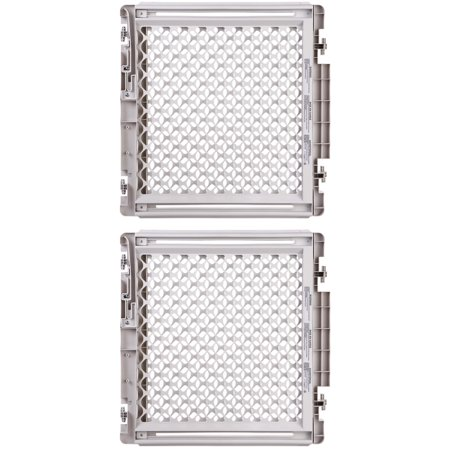 North States Wide Stairway Baby   Pet Mounted Swing Gate   White   8679  2 Pack