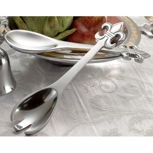 Kindwer Fleur de Lis 2 Piece Flatware Set