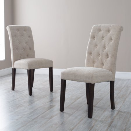 Morgana Tufted Parsons Dining Chair Set Of 2