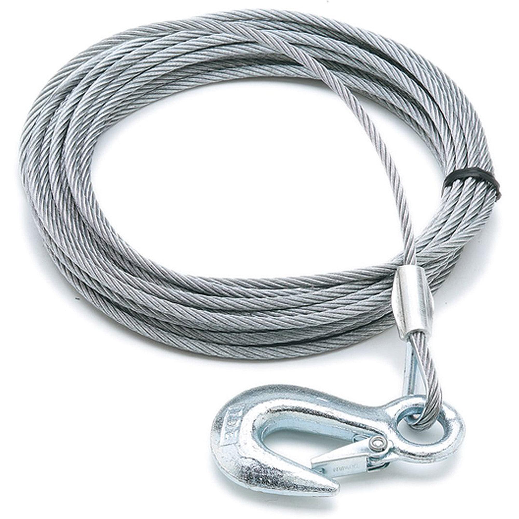 "SeaSense Trailer Winch Cable, 1/8"" x 20', 2000 lbs"