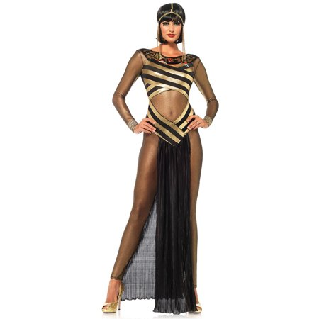 Leg Avenue Adult Nile Queen 3-Piece Costume (Dead Prom Queen Costume)